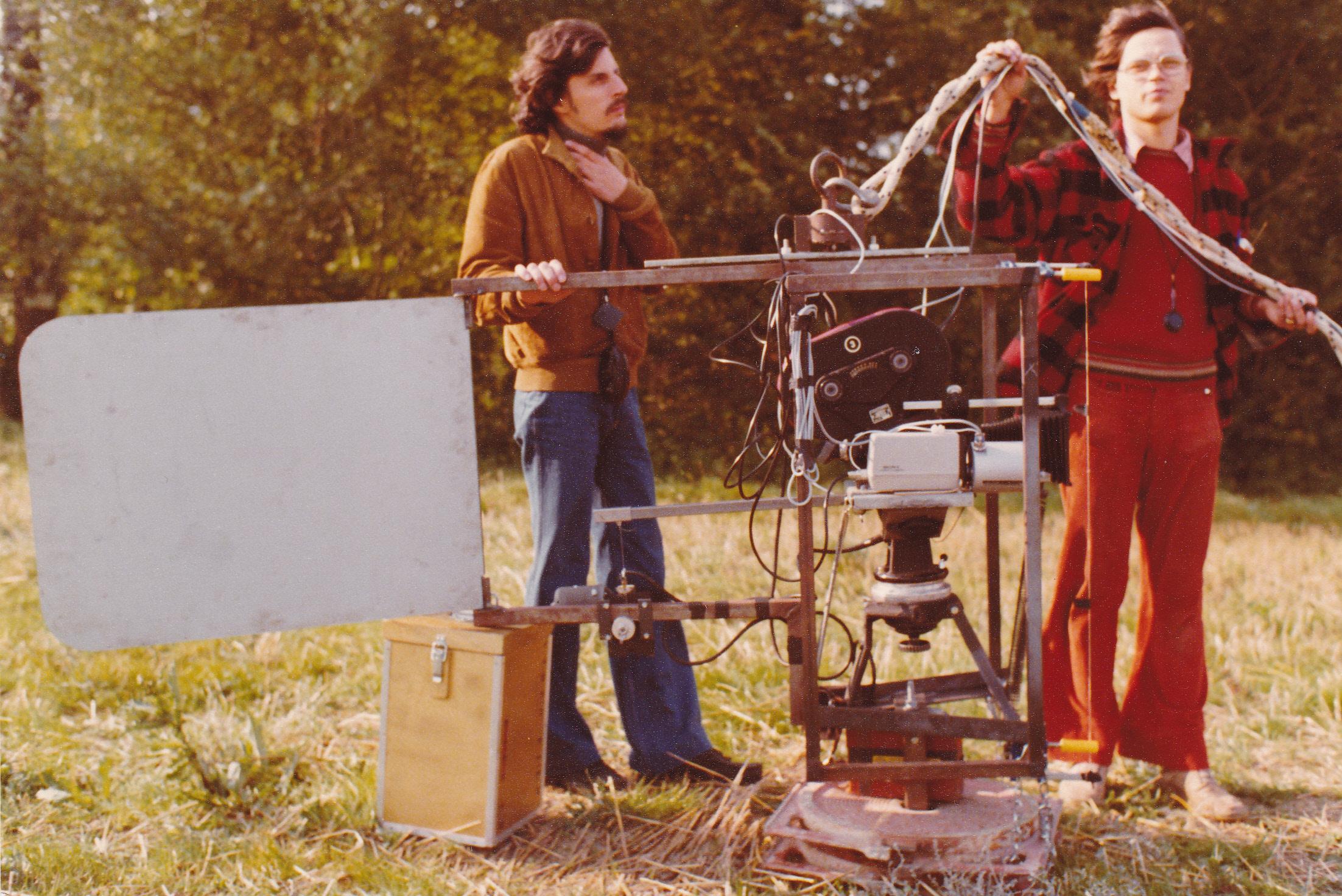 Sur le tournage des Petites fugues en 1977: «l'envol dePipe»